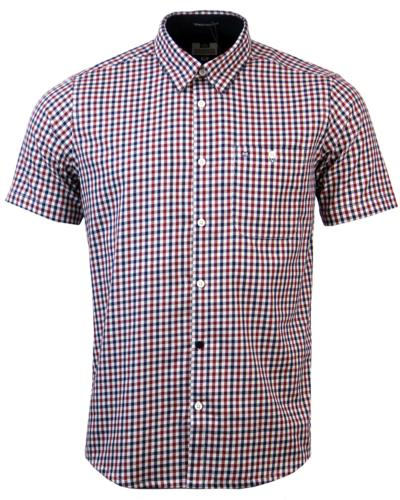 Roscoe WEEKEND OFFENDER Mod Gingham Check Shirt