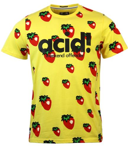 WEEKEND OFFENDER HAPPY MONDAYS ACID T-SHIRT