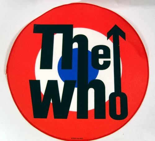 THE WHO PARKA PATCH RETRO MOD SIXTIES BACK PATCH
