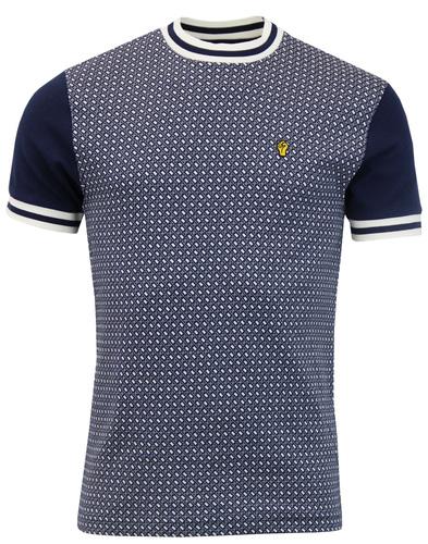wigan casino northern soul t-shirt navy mod