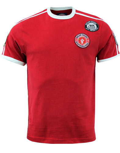 wigan casino northern soul mod patches tshirt red