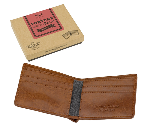 GENTLEMANS HARDWARE FORTUNE WALLET RETRO WALLET