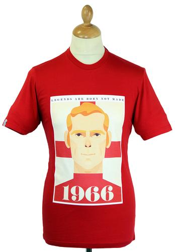 WORLD CLASS COLLECTIVE FOOTBALL T-SHIRTS MOORE RED