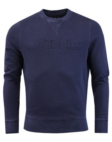 WRANGLER Men's Retro 70s Authentic Crew Sweatshirt