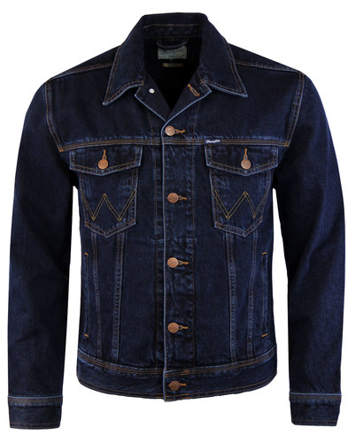 wrangler retro mod authentic denim western jacket