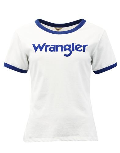 Kabel WRANGLER Women's Retro 1970s Ringer T-shirt