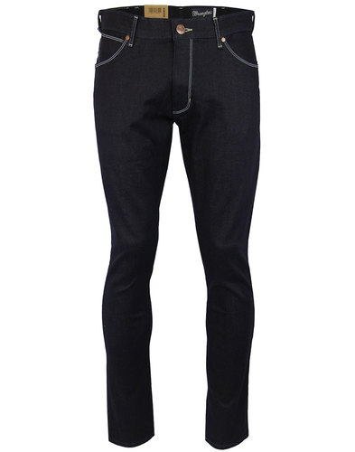 wrangler larston mod slim tapered soft hand jeans