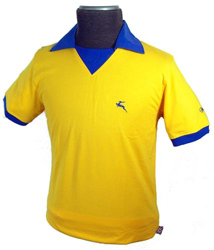 BUKTA VINTAGE MENS RETRO SEVENTIES FOOTBALL SHIRT