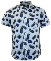 LEE RETRO MOD FEATHER BUTTON DOWN SHIRT