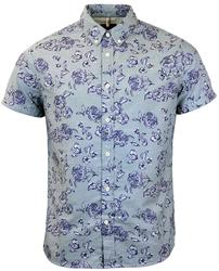 PEPE JEANS DALMORE SHORT SLEEVE FLORAL SHIRT