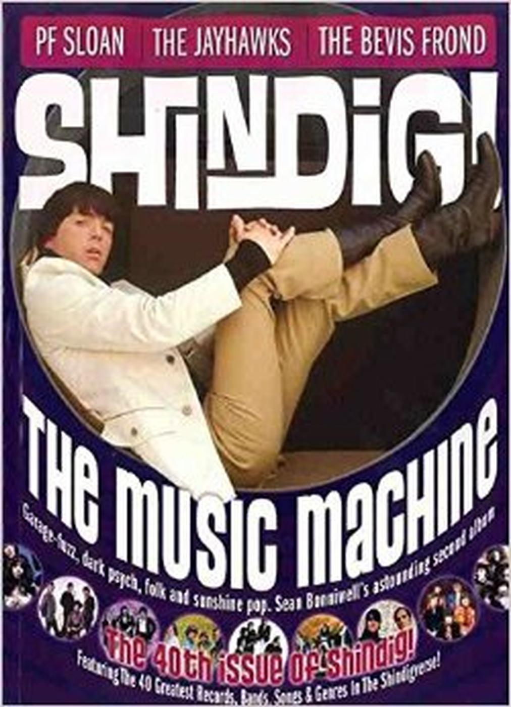 + SHINDIG! MAGAZINE - Issue 40 The Music Machine