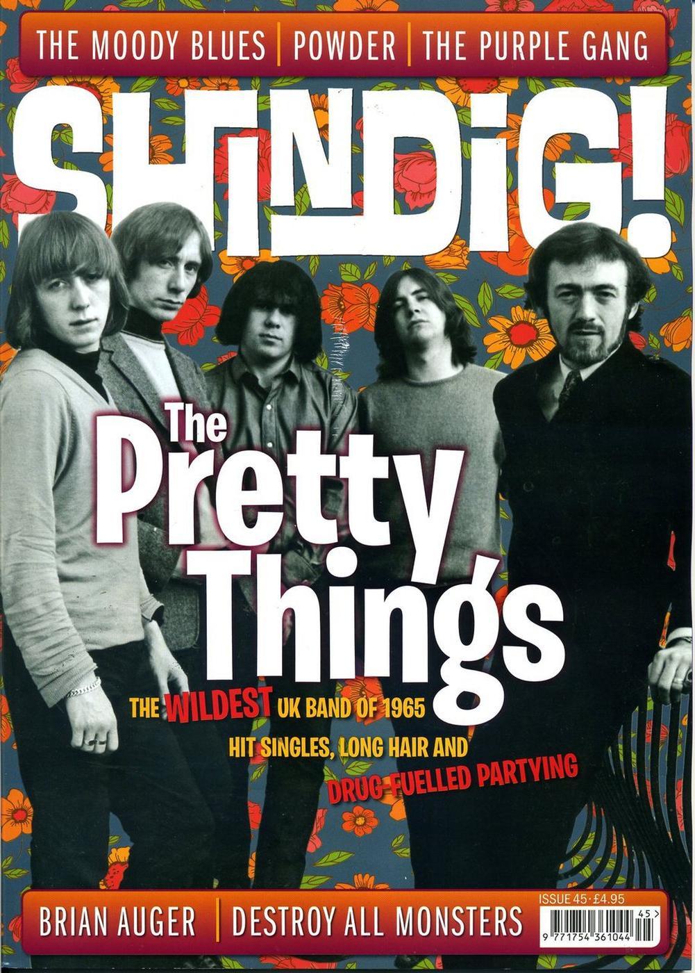 + SHINDIG! MAGAZINE - Issue 45 The Pretty Things