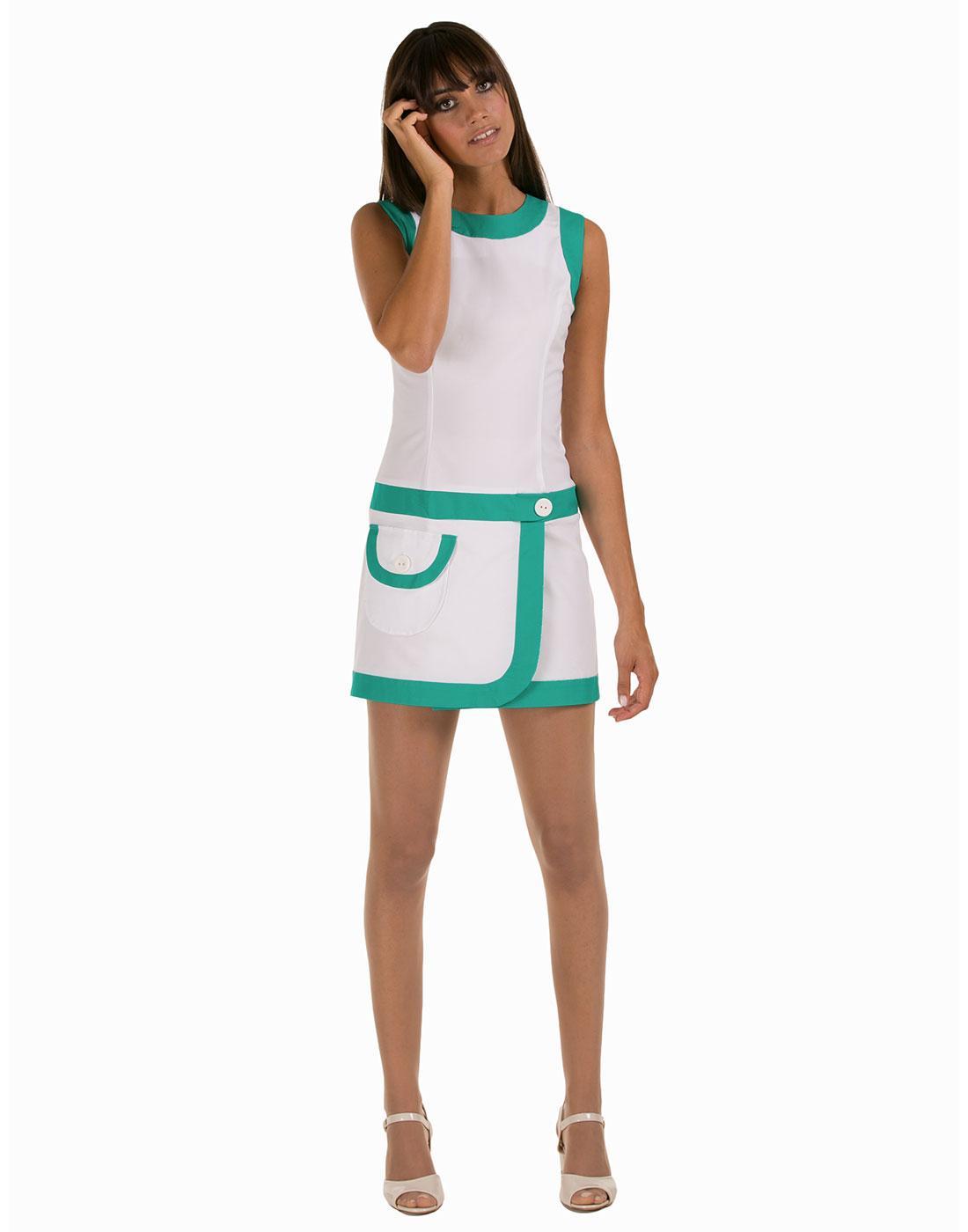 MARMALADE Retro Mod Sixties Style Tennis Dress