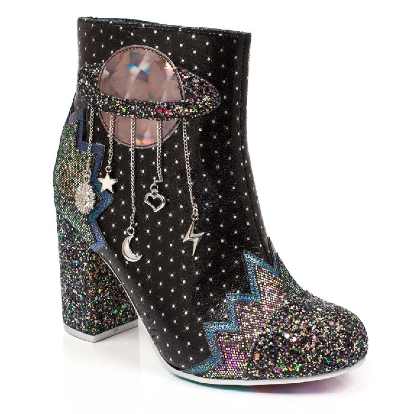 Intergalactic IRREGULAR CHOICE 70s Space Boots B