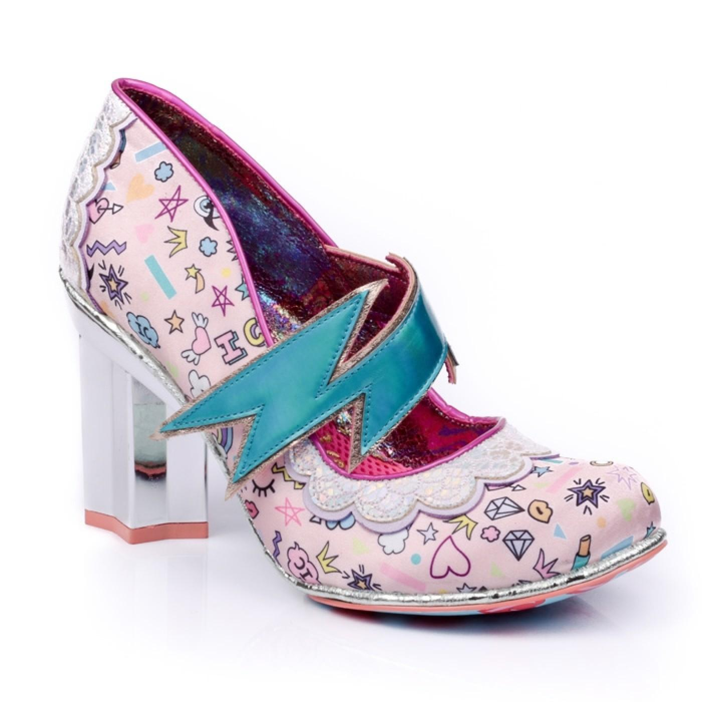 Rainbow Thunder IRREGULAR CHOICE Lighting Heels P