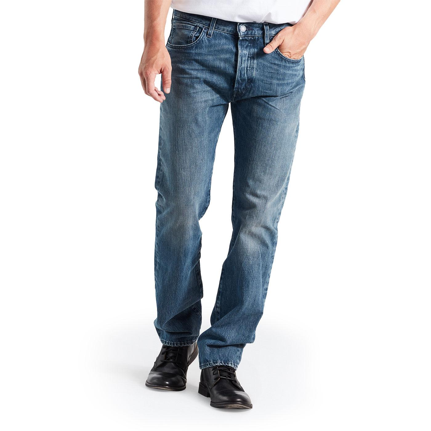 LEVI'S 501 Men's Original Fit Denim Jeans (Tissue)