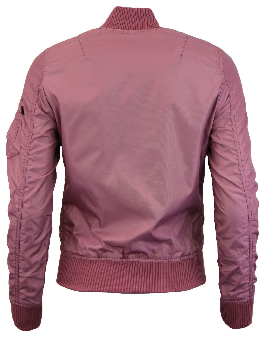 Ma 1 Tt Wmn Alpha Industries Dusty Pink Jacken Kleidung