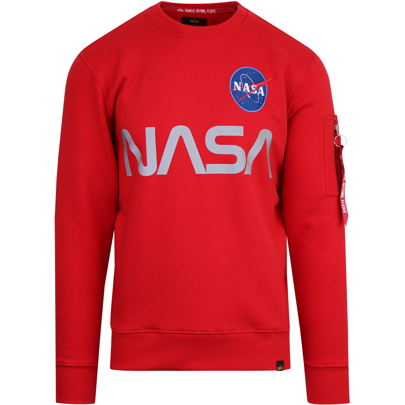 ALPHA INDUSTRIES Reflective NASA Sweatshirt (R)