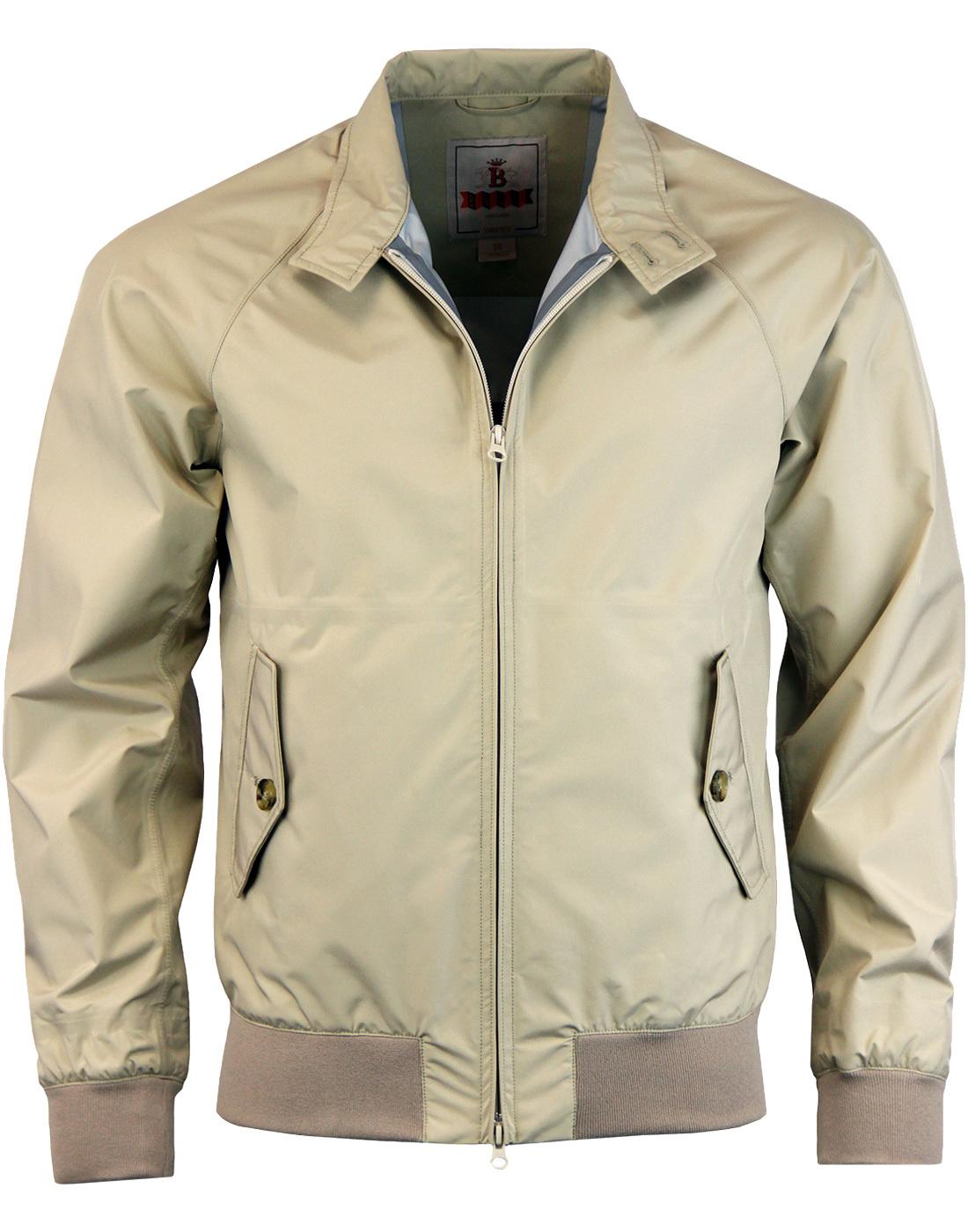 BARACUTA G9 Baratex 3L Harrington Jacket - Beige