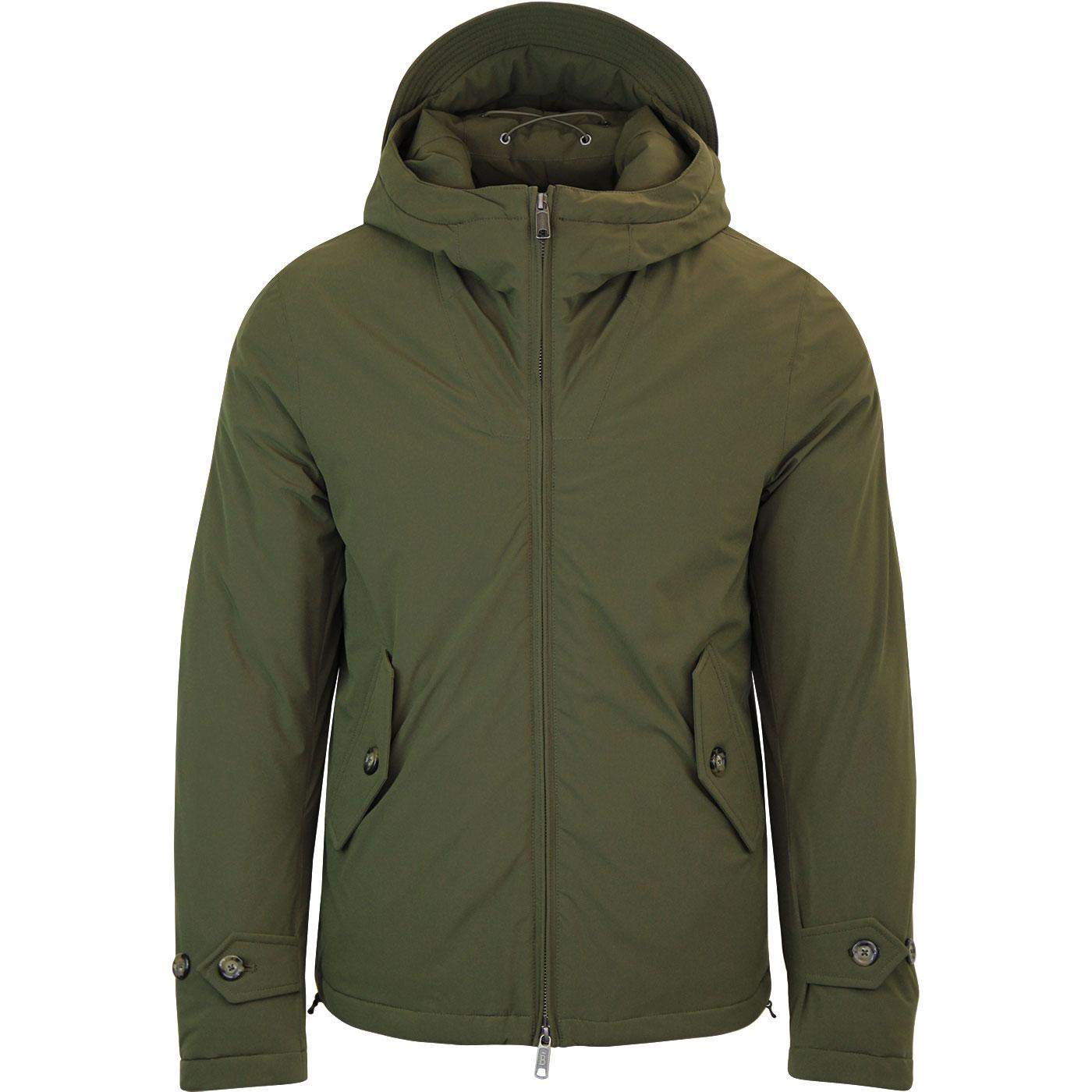 BARACUTA Hardy Stretch Mod Harrington Anorak BEECH