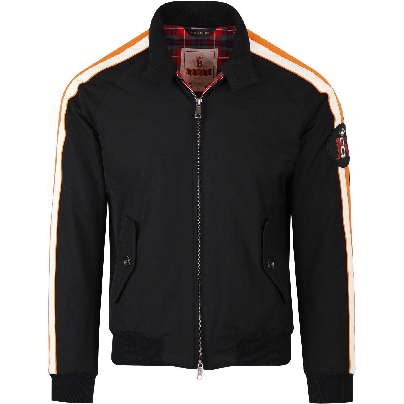 BARACUTA Manx TT G9 Racing Harrington Jacket BLACK