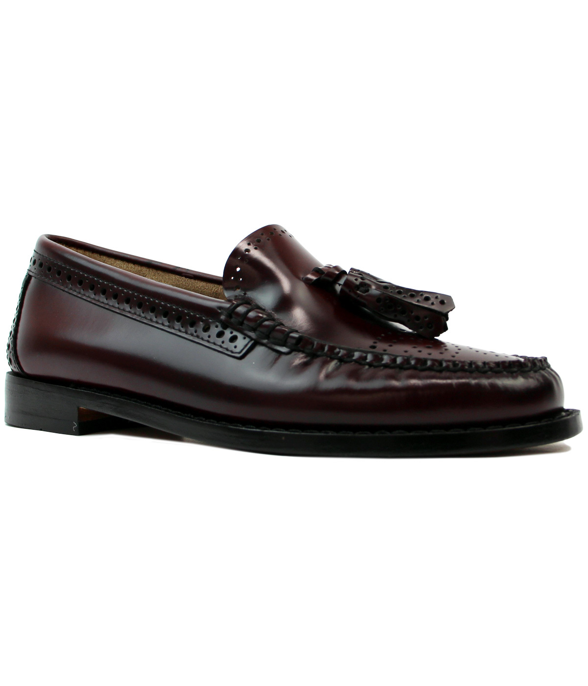 Estelle BASS WEEJUNS Retro Mod 60s Brogue Loafers