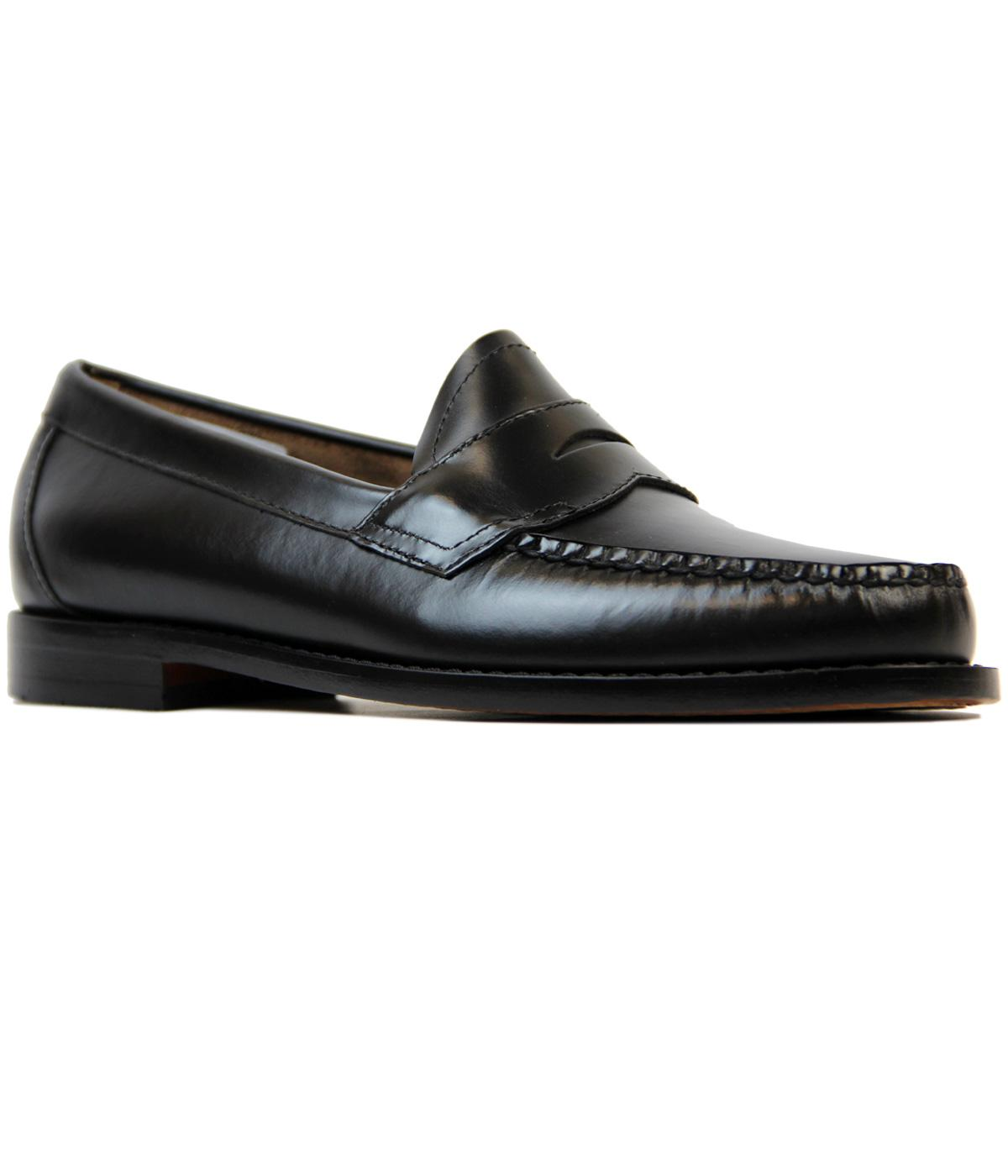 Logan BASS WEEJUNS Retro Mod Classic Penny Loafers