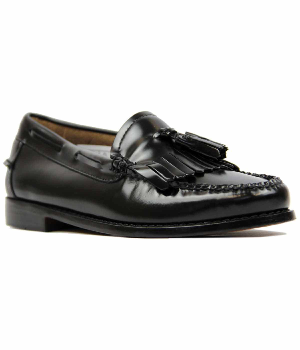 Esther BASS WEEJUNS Retro Mod 60s Kilted Loafer
