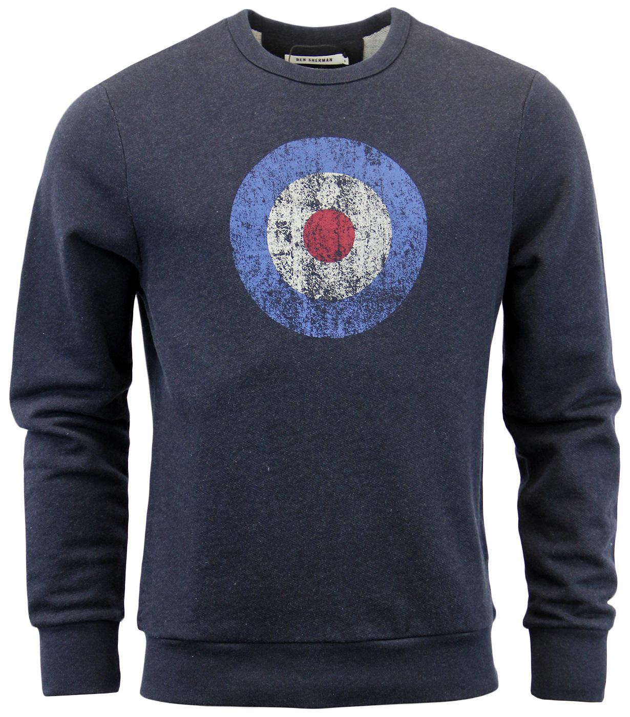 BEN SHERMAN Retro 60s Vintage Mod Target Sweater