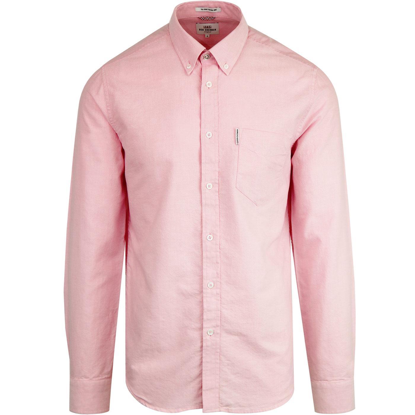 BEN SHERMAN Core Mod L/S Oxford Shirt (Light Pink)