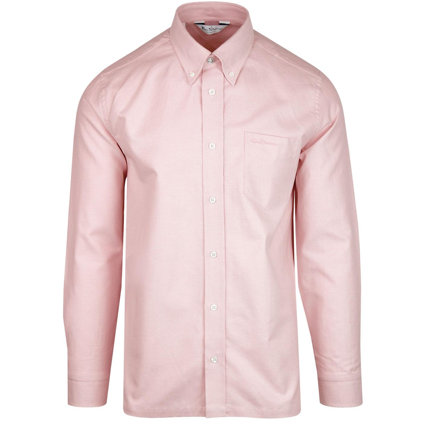BEN SHERMAN Archive Benny L/S Mod Shirt LIGHT PINK