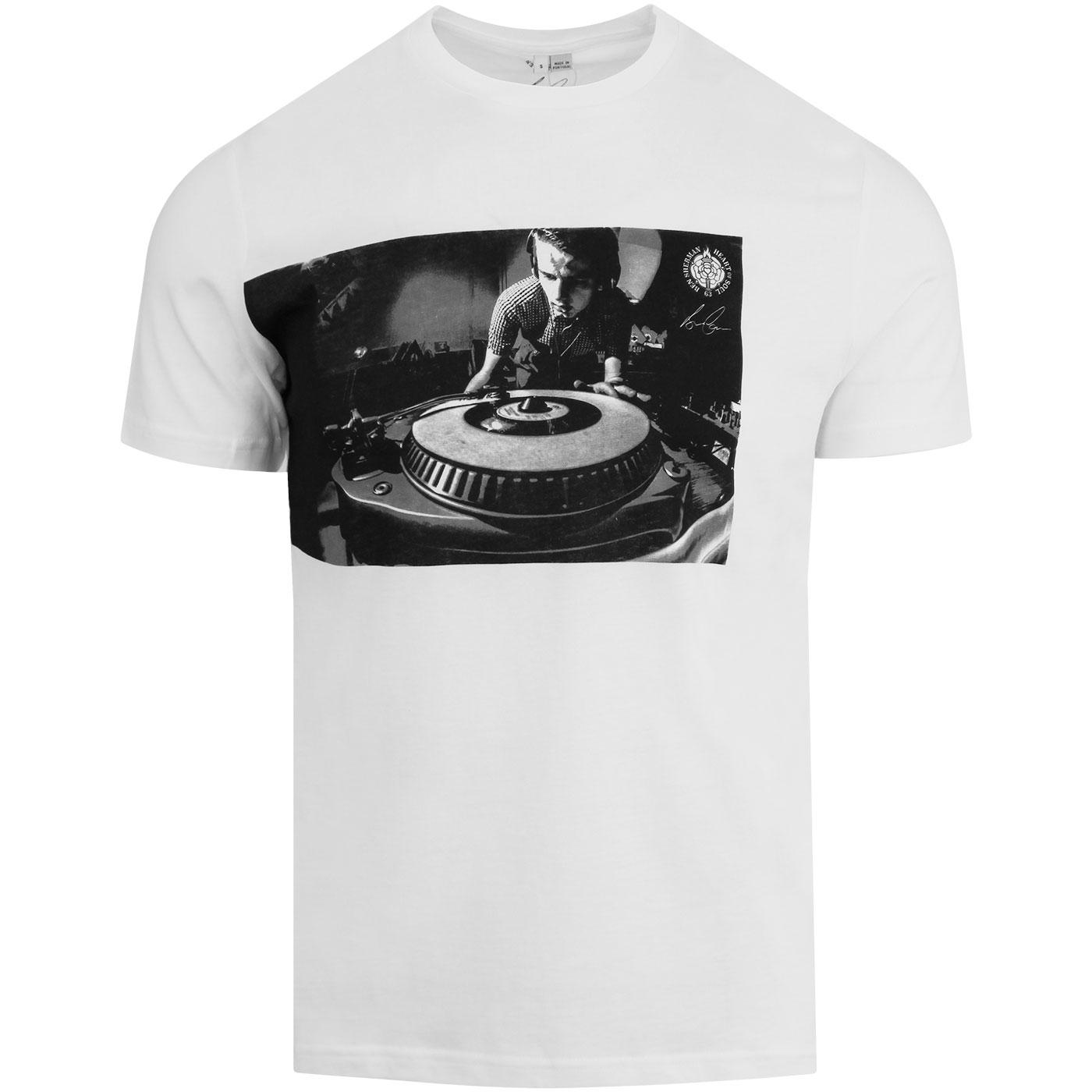 BEN SHERMAN Retro Brian Cannon DJ Photo T-Shirt