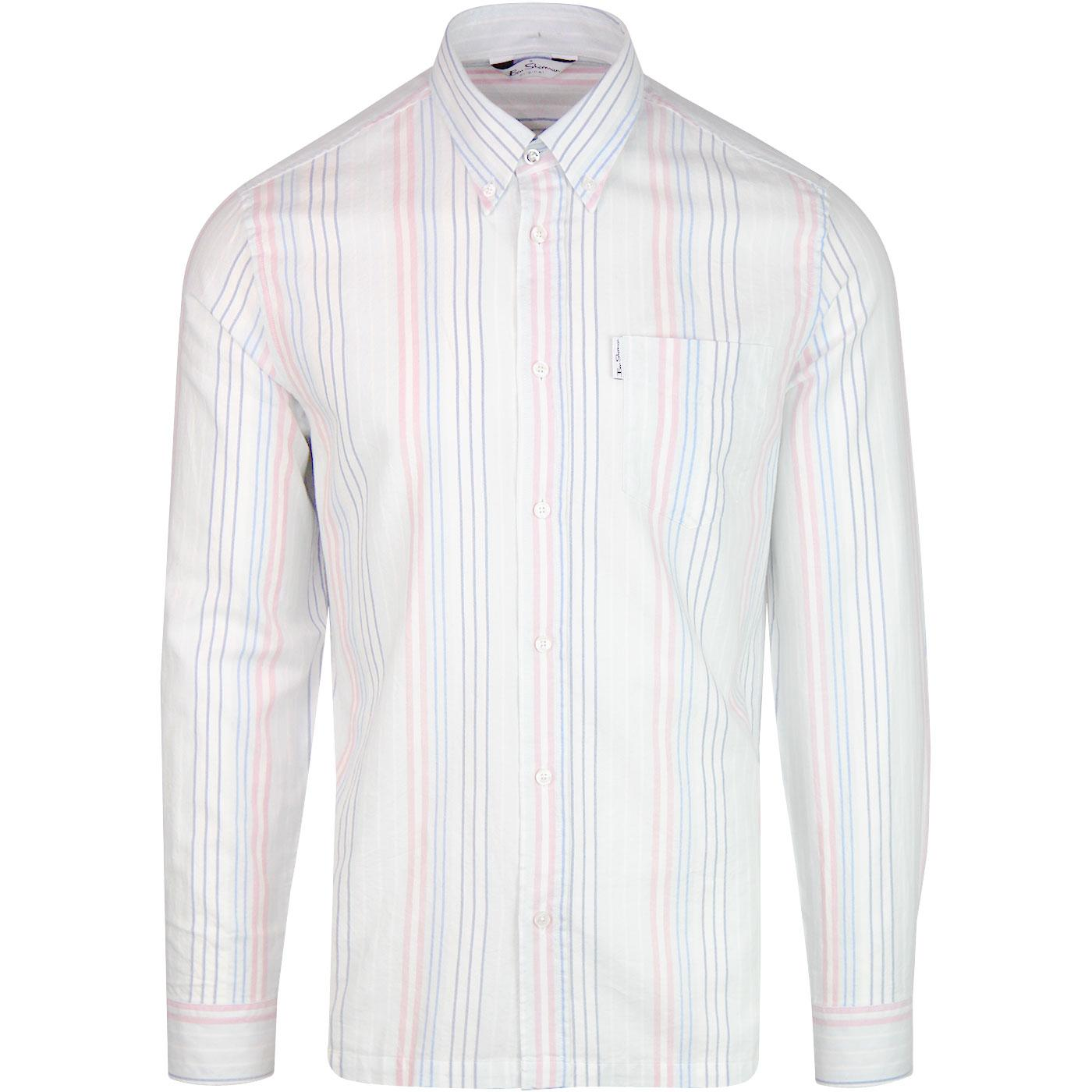 BEN SHERMAN Archive Yale L/S Striped shirt (PB)
