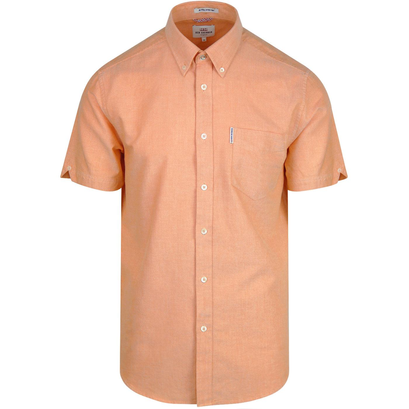Ben Sherman SS Core Oxford Shirt Camisa Casual para Hombre