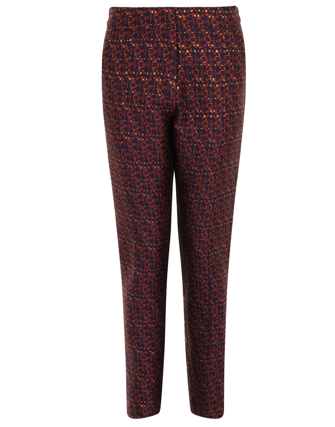 Lorraine DARLING Retro Metallic Textured Trousers