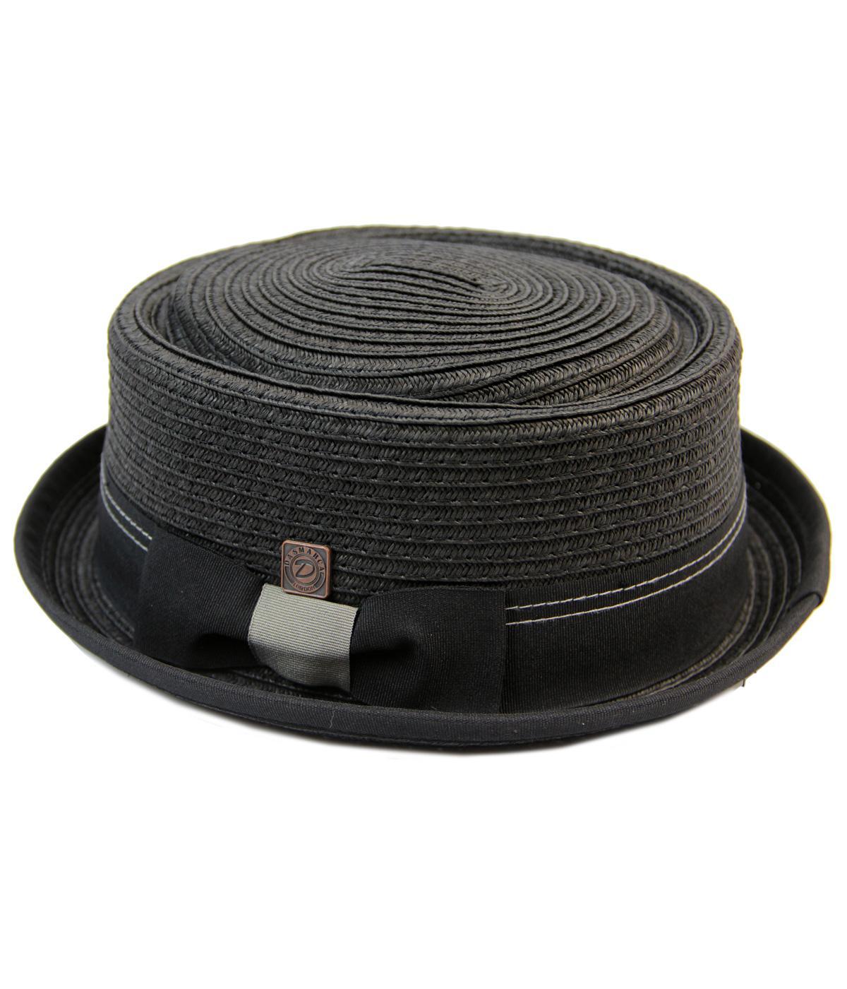 Rico DASMARCA Retro Mod Weave Pork Pie Hat
