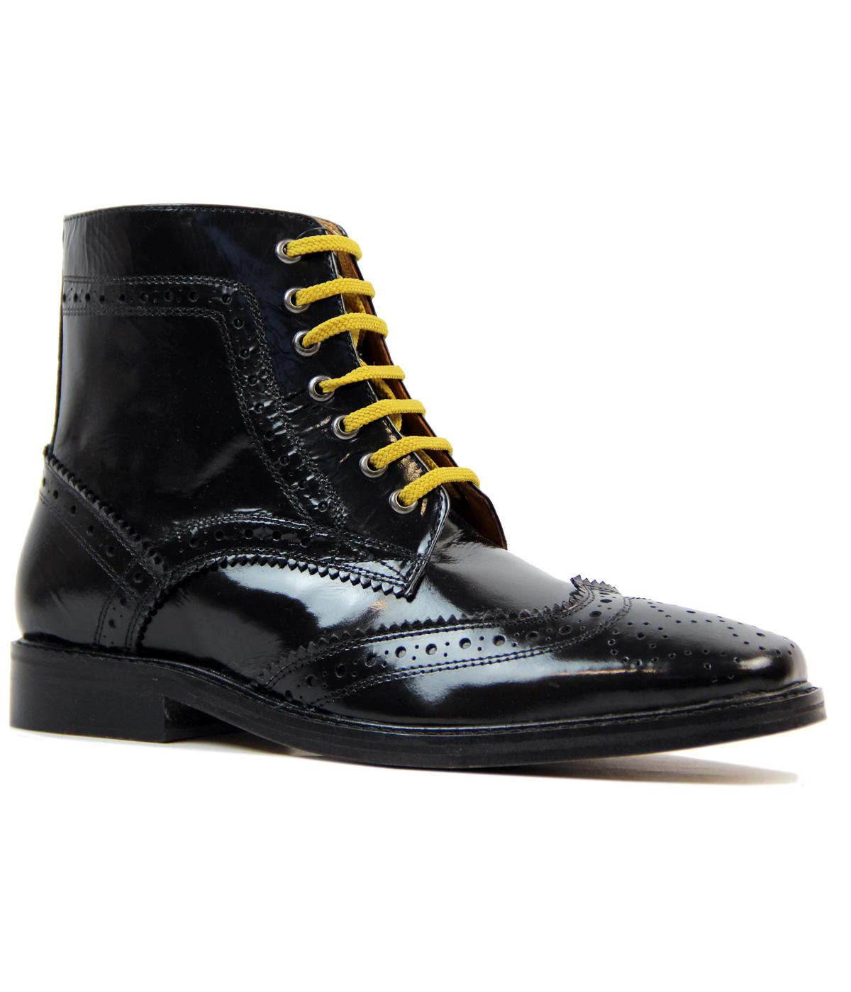 Landslide DELICIOUS  JUNCTION Brogue Bovver Boots