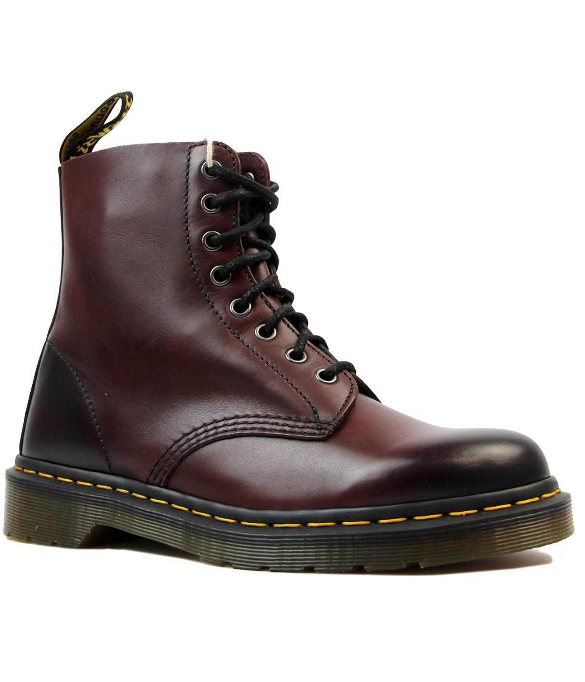 00f3980729 DR MARTENS Pascal Mod Antique Temperley Boots in Cherry