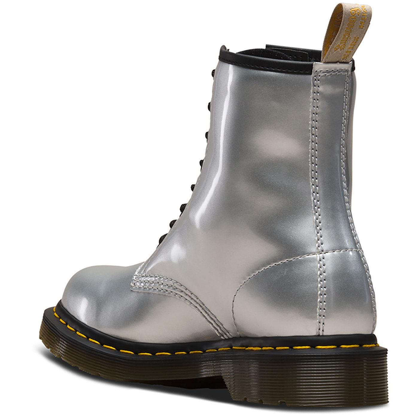 DR Metallic 1460 Boots SILVER Vegan MARTENS qzZwAg 2fa8aae19