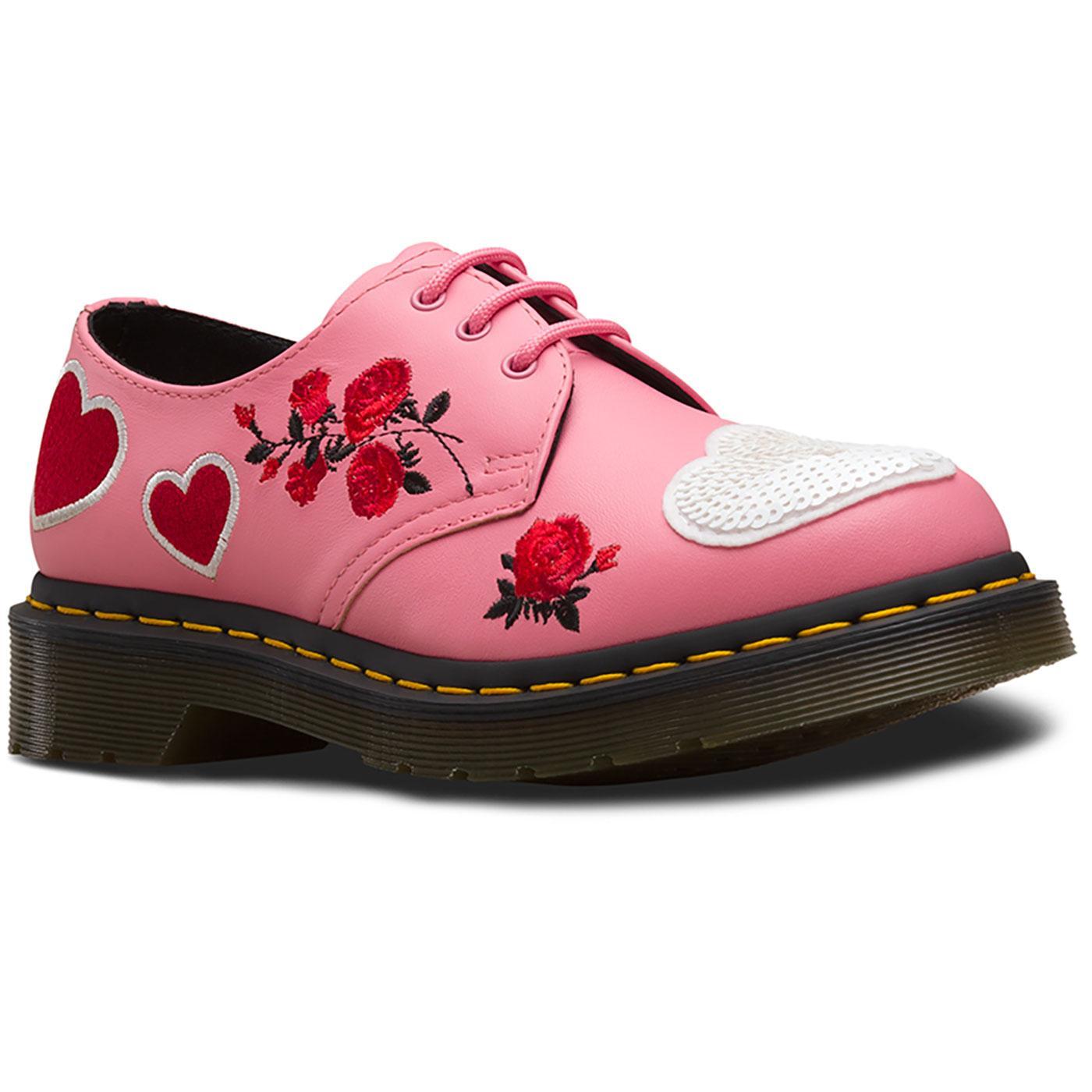 1461 Sequin Hearts DR MARTENS Vintage Heart Shoes