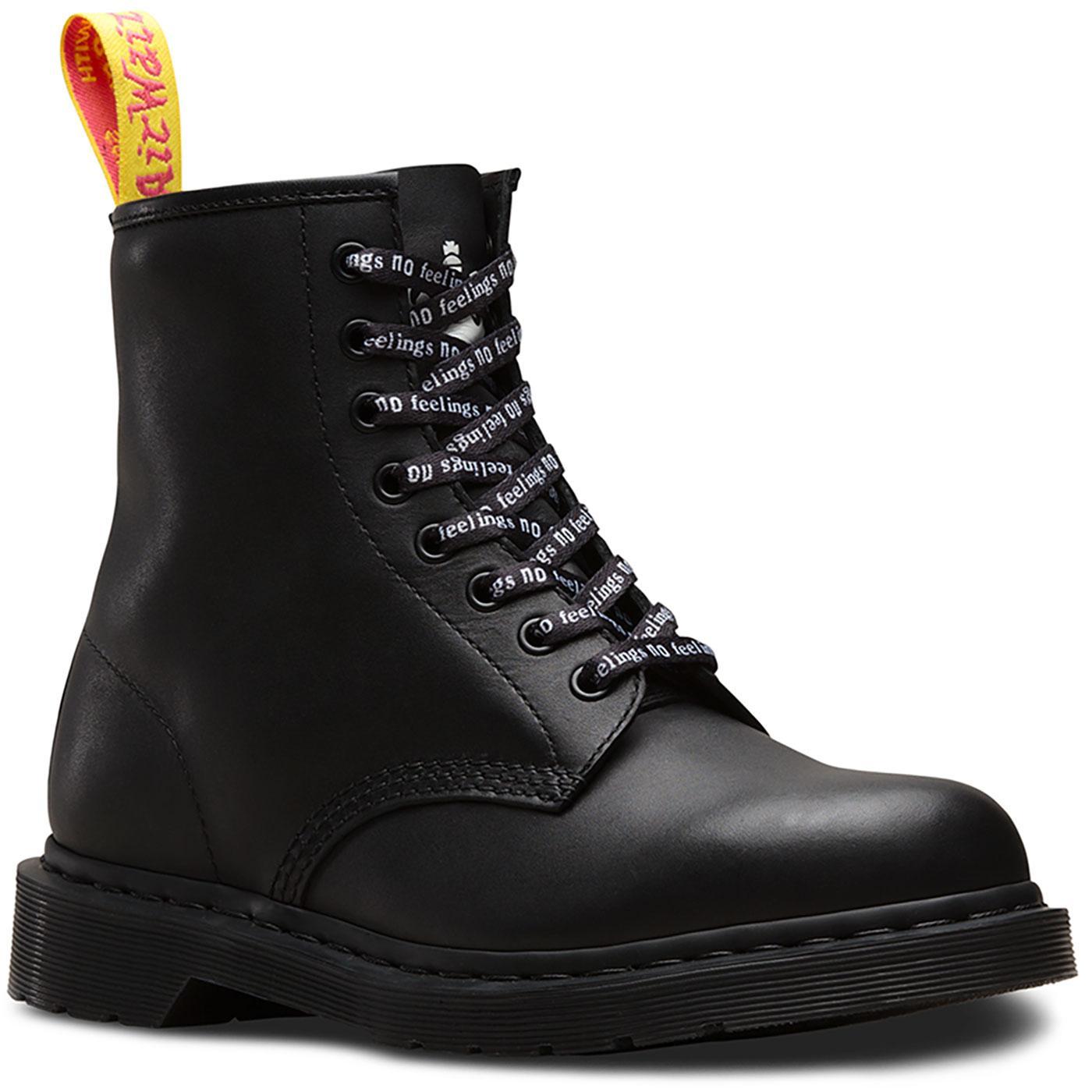 f671b6c6b379 DR MARTENS x SEX PISTOLS 1460 No Future Slogan Boots