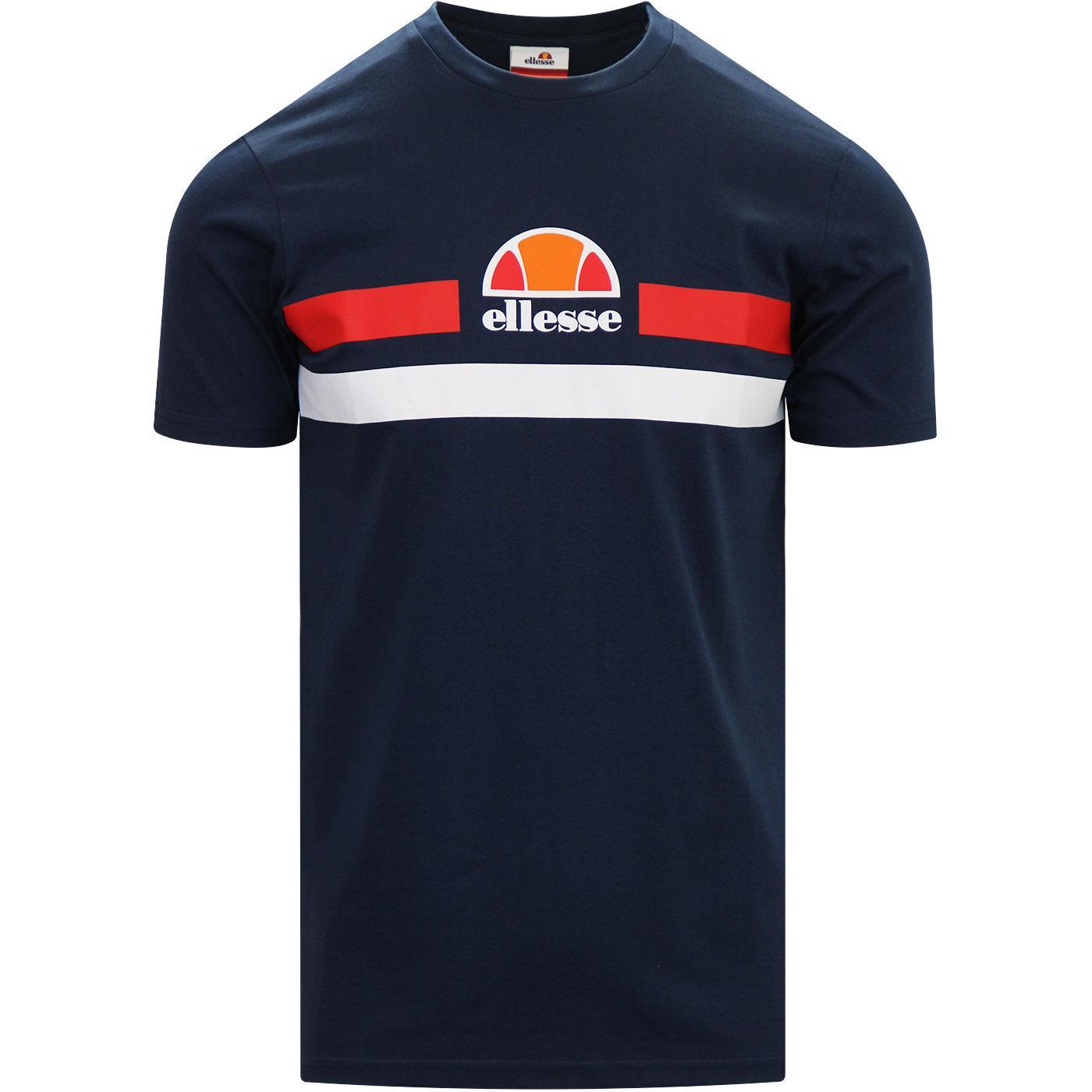 Aprel ELLESSE Retro Chest Stripe Logo T-shirt N