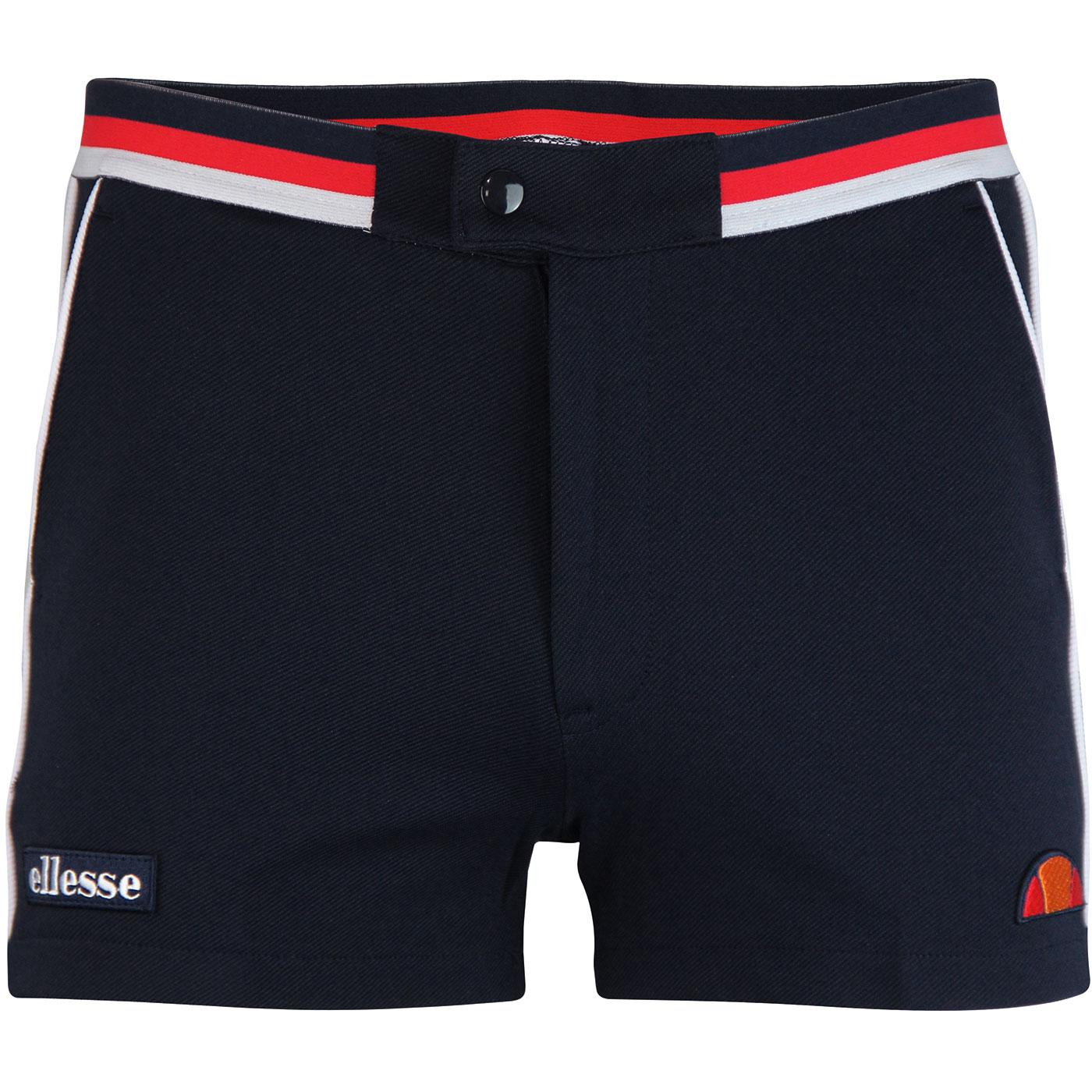 Knapp ELLESSE Men's Retro 70s Tennis Shorts (Navy)