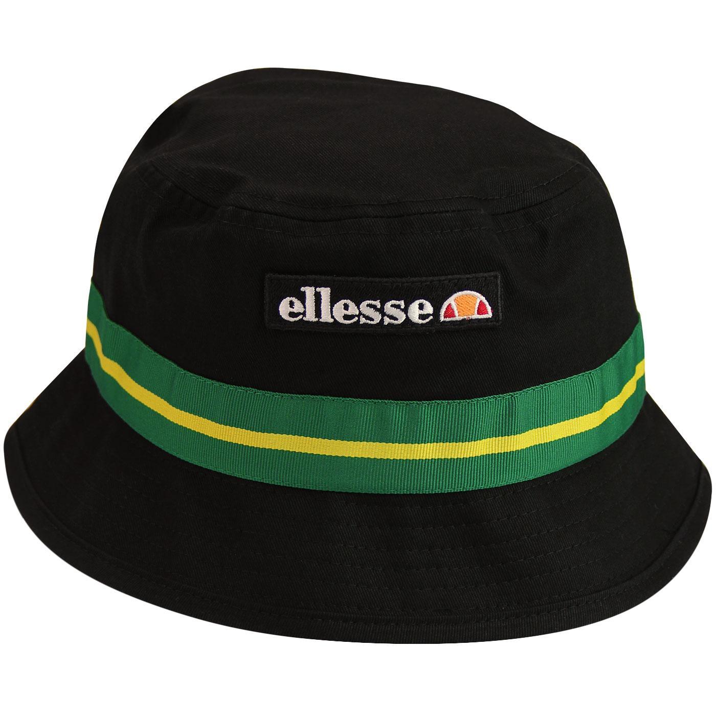 Marlo ELLESSE Retro 90s Indie Bucket Hat (Black)