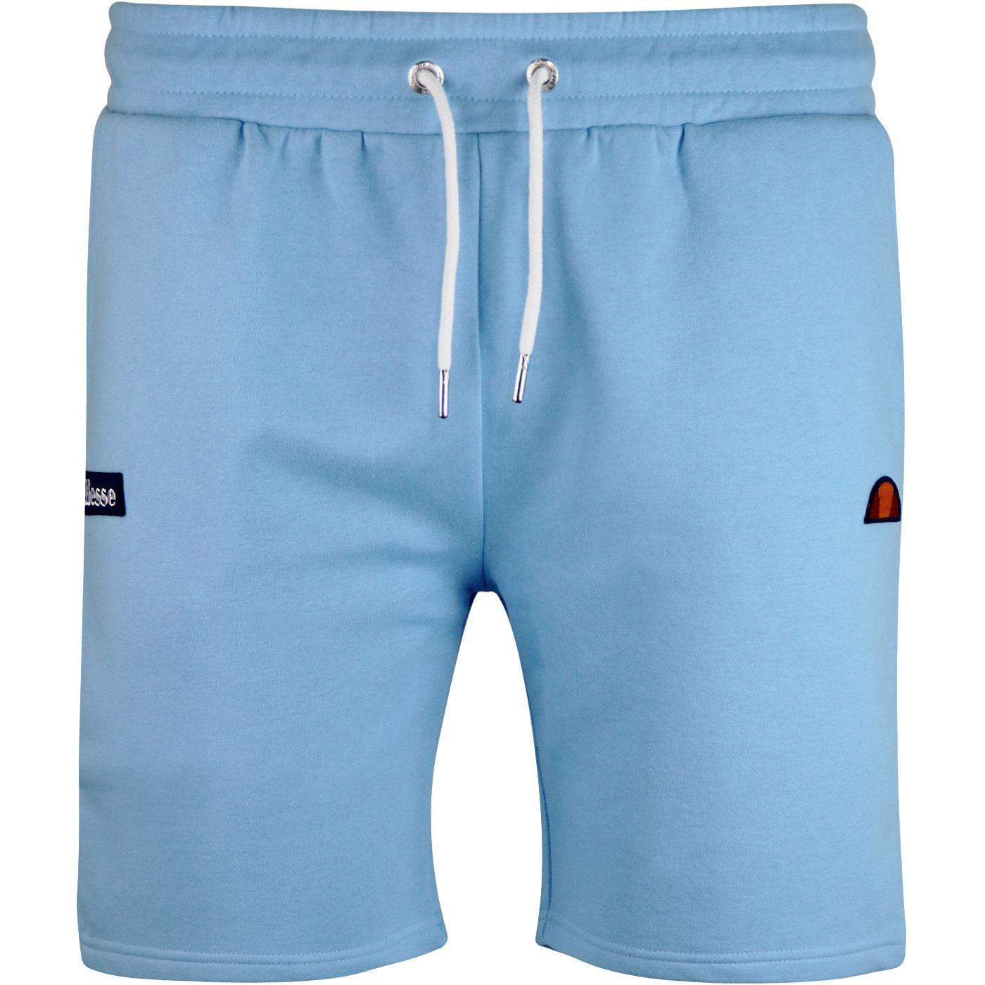 Noli ELLESSE Men's Retro 80s Jersey Shorts in Blue