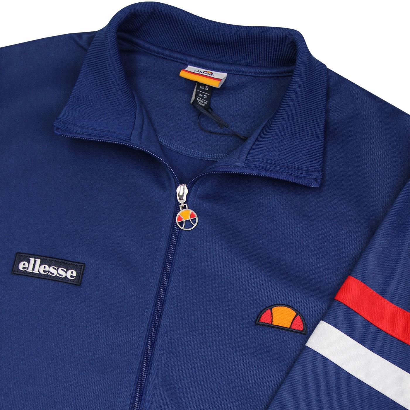 Milan Roma Ellesse Rimini Track Top in Navy /& Red tracksuit jacket