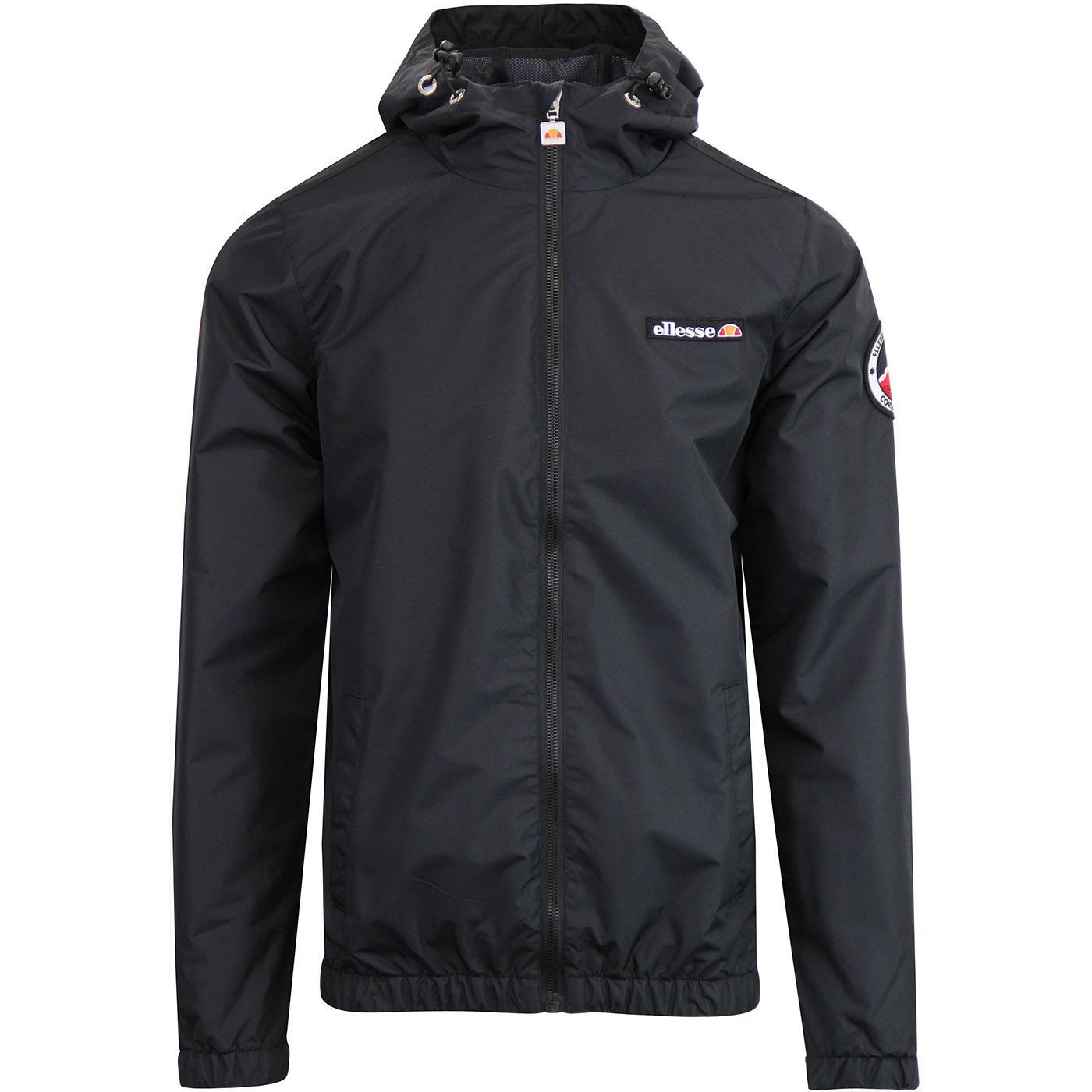 Terrazzo ELLESSE 80's Hooded Ski Jacket - Black