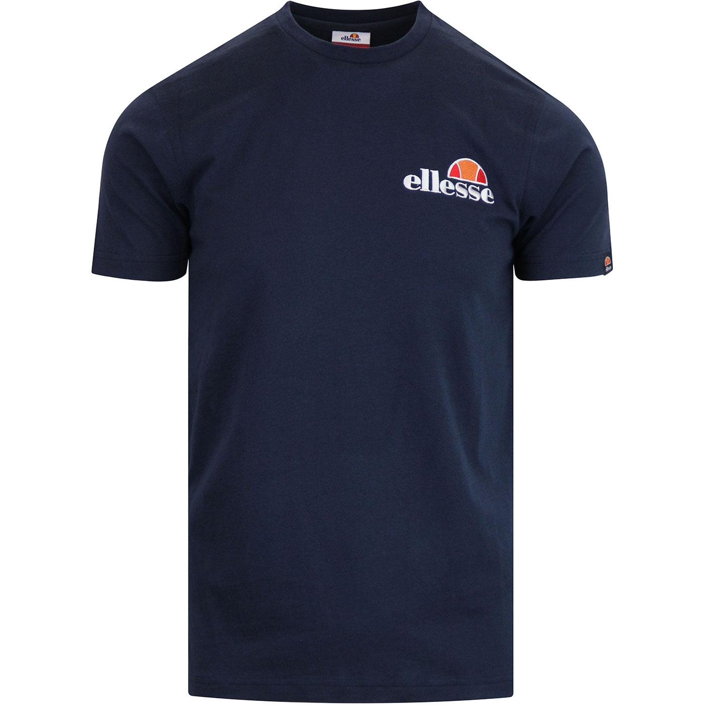 Voodoo ELLESSE Men's Retro Casuals Logo Tee (Navy)