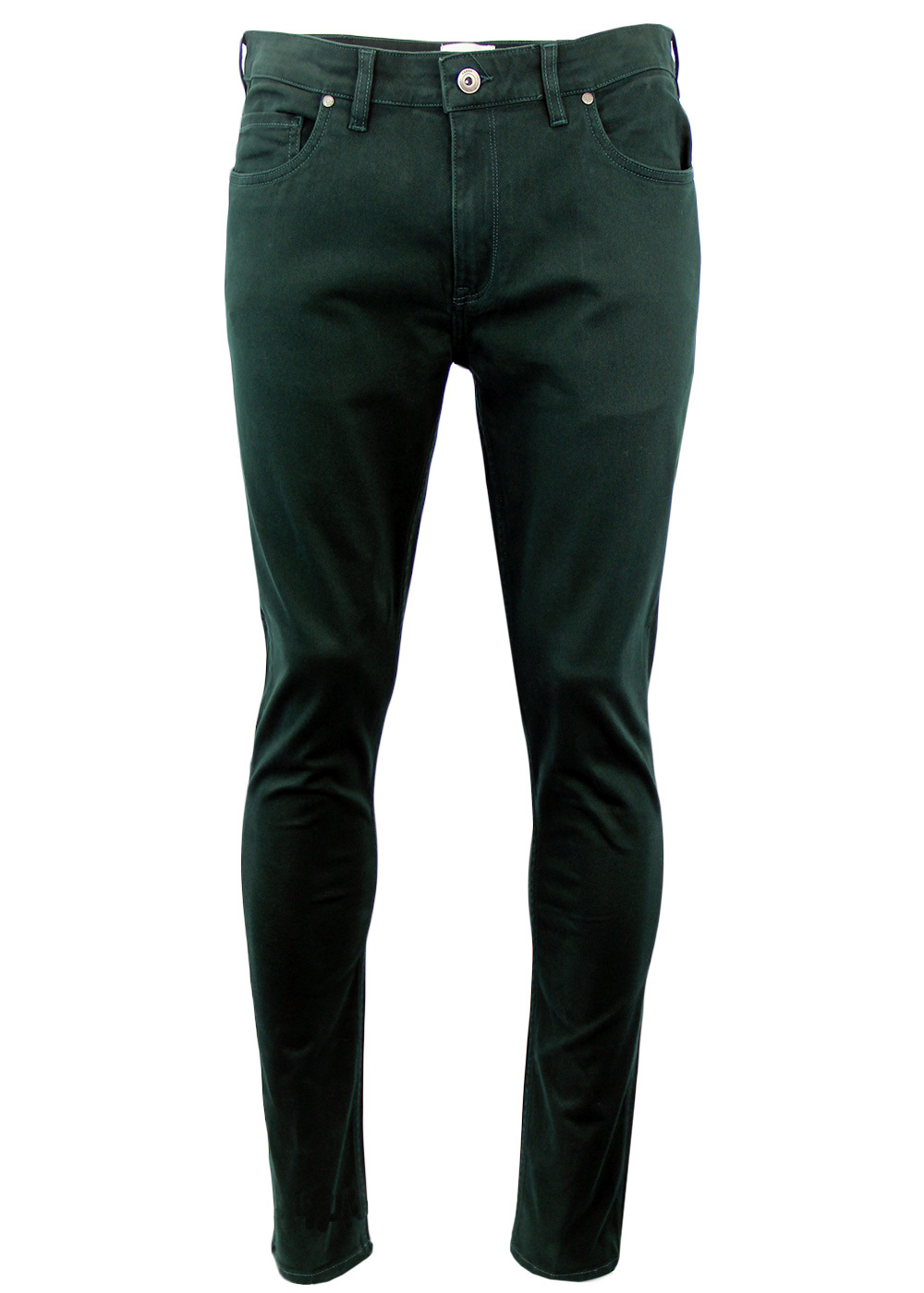 Drake FARAH Retro Mod Slim Stretch Twill Trousers