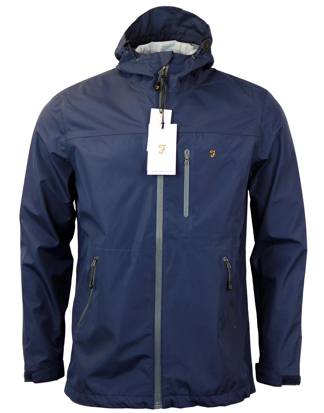 Tansley FARAH Retro Indie Water Resistant Jacket